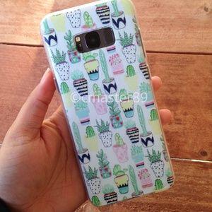 Desert Cactus Samsung S8+ Plus Phone Case